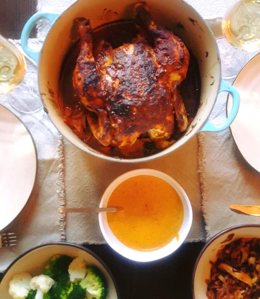 Matglede og eksotisk kyllingoppskrift